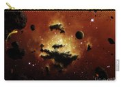 A Nebula Evaporates In The Far Distance Carry-all Pouch by Brian Christensen