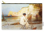 A Painter By The Sea Side Carry-all Pouch
