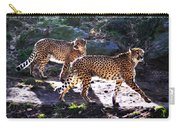 A Pair Of Cheetah's Carry-all Pouch