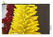 A Pair Of Yellow And Red Carry-all Pouch