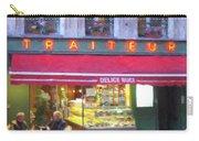 A Paris Bistro Carry-all Pouch