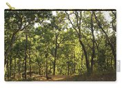 A Path Through A Sparse Forest And Trees Carry-all Pouch