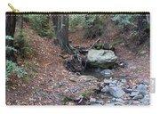 A Peaceful Redwood Creek On Mt Tamalpais Carry-all Pouch
