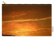 A Peeking Sunrise Carry-all Pouch