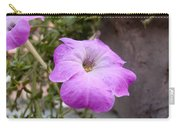 A Photo Of A Purple Trumpet Shaped Flower Carry-all Pouch