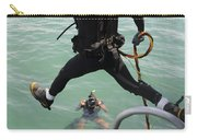 A Photographer Documents A Navy Diver Carry-all Pouch