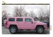 A Pink Hummer Carry-all Pouch