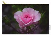 A Pink Rose Carry-all Pouch by Xueling Zou