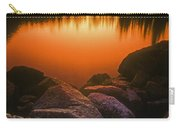A Pond At Sunset, British Columbia Carry-all Pouch