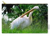 A Preening Stork Carry-all Pouch