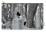 A Quiet Winter Day At The Graveyard Carry-all Pouch