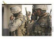 A Radio Operator Helps A Platoon Carry-all Pouch by Stocktrek Images