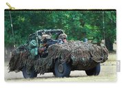 A Recce Unit Of The Belgian Army Carry-all Pouch