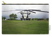 A Rh-53d Sea Stallion Helicopter Carry-all Pouch