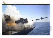 A Rim-7 Sea Sparrow Missile Launches Carry-all Pouch