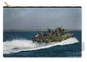 A Riverine Command Boat During Exercise Carry-all Pouch