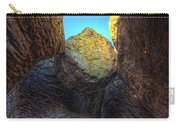 A Rock Balanced Precariously Carry-all Pouch