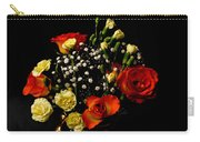 A Rose Bouquet Carry-all Pouch
