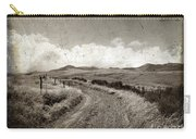 A Rural Path In Auvergne. France Carry-all Pouch