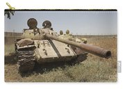A Russian T-55 Main Battle Tank Carry-all Pouch