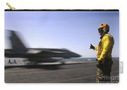 A Sailor Ensures An Fa-18c Hornet Carry-all Pouch