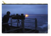 A Sailor Fires A .50-caliber Machine Carry-all Pouch