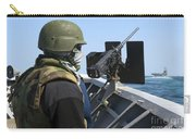 A Sailor Manning A .50-caliber Machine Carry-all Pouch