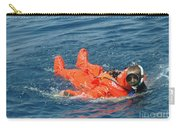 A Sailor Rescued By A Diver Carry-all Pouch