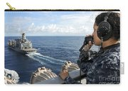 A Sailor Stands Forward Lookout Watch Carry-all Pouch