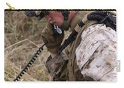 A Satellite Communications Specialist Carry-all Pouch by Stocktrek Images
