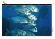 A School Of Bigeye Trevally, Papua New Carry-all Pouch by Steve Jones