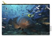 A School Of Golden Trevally Follow Carry-all Pouch
