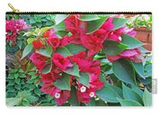 A Section Of Pink Bougainvillea Flowers Carry-all Pouch