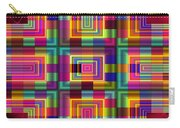 A Sense Of Squares Carry-all Pouch