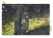 A Shady Spot Carry-all Pouch by Winslow Homer