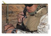 A Single-channel Radio Operator Works Carry-all Pouch by Stocktrek Images