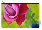 A Single Rose II Mother's Day Card Carry-all Pouch