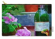 A Sip Of Wine Carry-all Pouch by Amanda Moore