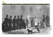 A Slave-pen At New Orleans Before Carry-all Pouch