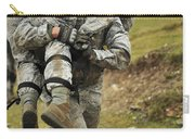 A Soldier Transports A Fellow Wounded Carry-all Pouch