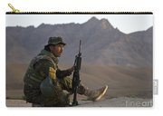 A Soldier With The Afghan National Army Carry-all Pouch