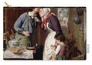 A Son's Devotion Carry-all Pouch by Pierre Jean Edmond Castan