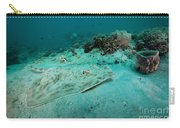A Southern Stingray On The Sandy Bottom Carry-all Pouch by Michael Wood