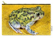 A Spadefoot Toad Carry-all Pouch