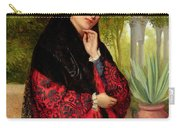 A Spanish Beauty Carry-all Pouch by John-Bagnold Burgess
