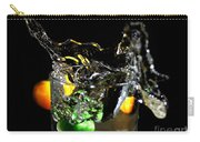 A Splash In The Glass Carry-all Pouch
