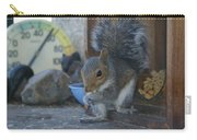 A Squirrel In 55 Degree Weather Carry-all Pouch