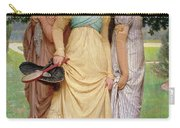 A Summer Shower Carry-all Pouch by Charles Edward Perugini