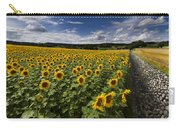 A Sunny Sunflower Day Carry-all Pouch