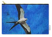 A Swallow And The Moon Carry-all Pouch